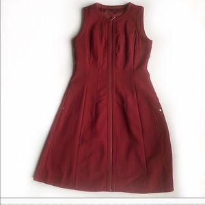 Lafayette 148 New York Celinda wool swing dress